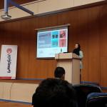خوشامدگویی به حضار توسط الناز پائیز زبان بدن کارگاه آموزشی تحلیل زبان بدن در حرفه خبرنگاری AkhbarRasmi journalist workshop1