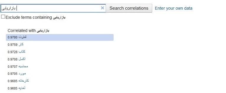 ابزار طوفان فکری گوگل